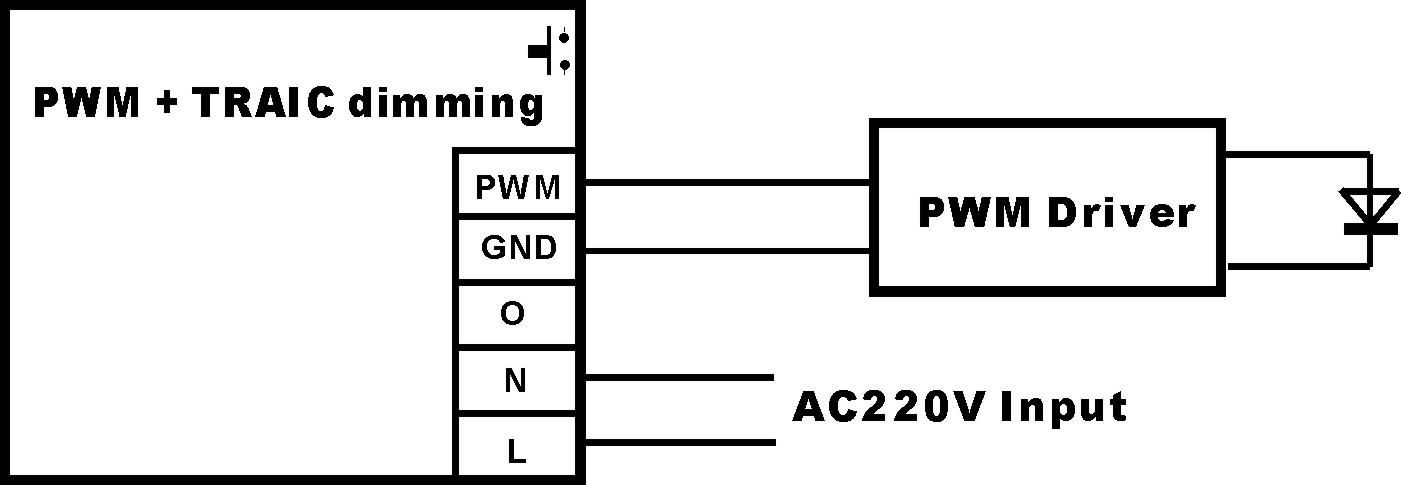 光驱动电源接线图